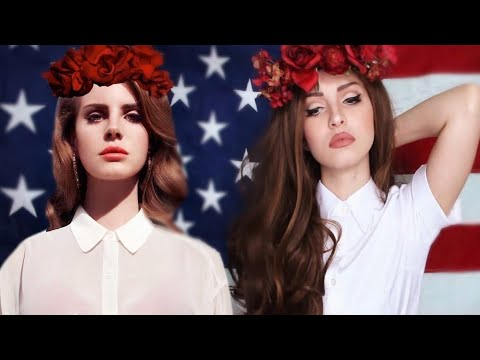 Lana Del Rey Transformation Makeup Tutorial