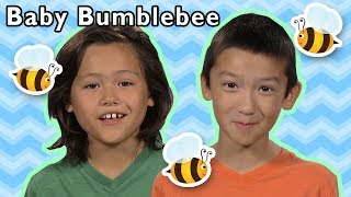 Baby Bumblebee and More   COUNTING ANIMAL SONGS   Nursery Rhymes with Mother Goose Club!