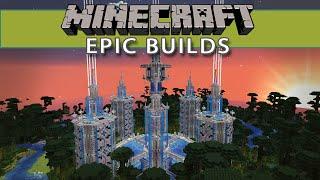 Minecraft Mega Builds - Mystery Temple!