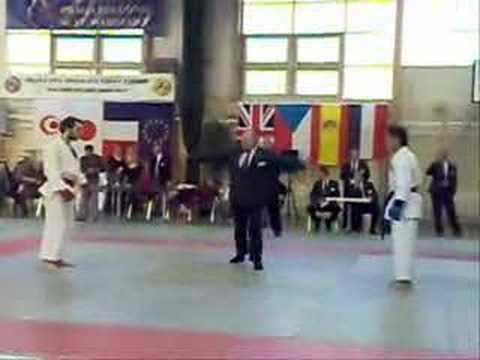 Semi Final Fight on Okinawa Shorin-Ryu Karate World Cup Image 1