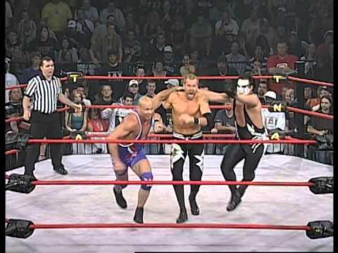 Sacrifice 2007: Kurt Angle Vs. Sting Vs. Christian Cage video