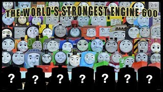NEW BIGGEST THOMAS AND FRIENDS WORLD'S STRONGEST ENGINE 600 TRACKMASTER