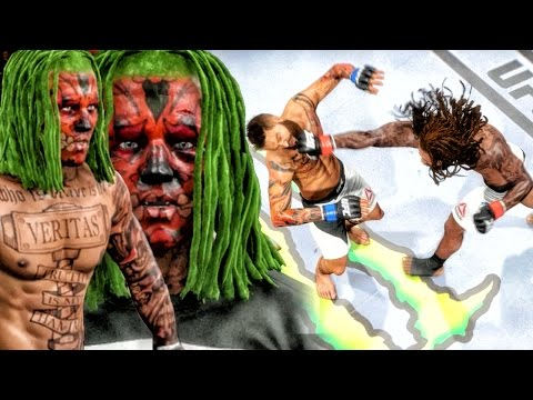 FIGHTING A REAL LIFE MONSTER! EA SPORTS UFC 2 Ultimate Team Gameplay