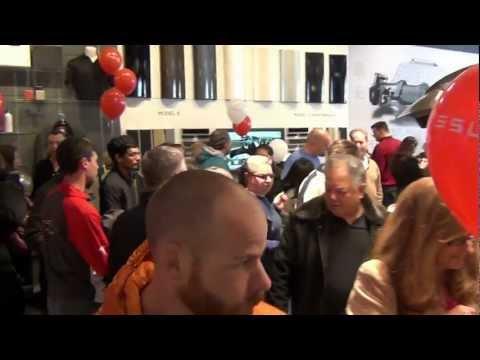 3 18 2012...public Unveiling Of Tesla's Model X---video #9 Of 14 video