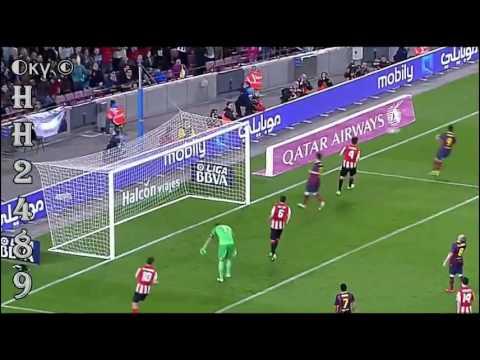 Barcelona vs Athletic Bilbao 2-1 2014 → RESUMEN & GOLES ← Barcelona 2:1 Athletic Bilbao ~ 20-04-2014