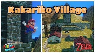 A ZELDA OCARINA OF TIME LEVEL in Super Mario Odyssey?!