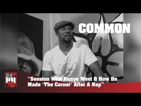Common - Session With Kanye West & How He Made