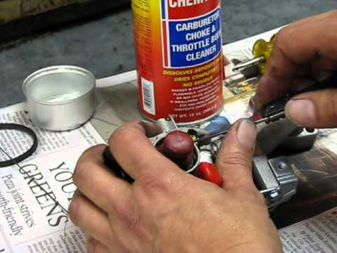 Lawn Mower Repair Part 2: Carburetor Clean a