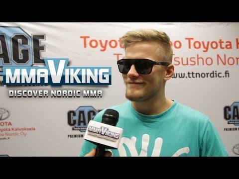 Aleksi Nurminen Cage 29 Post Fight Interview