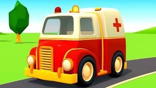 Helfer Autos auf Deutsch. Spiel mit Spielzeugautos. Zeichentrickfilme fГr Kinder.