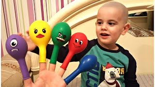 Baby Finger Family Song for LEARNING COLORS with Real Baby videos