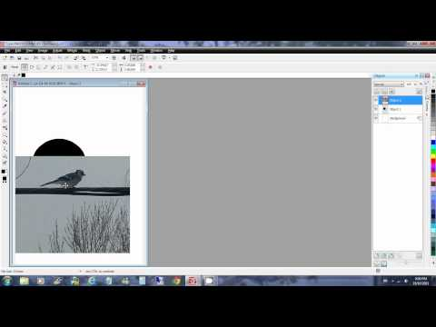 Corel PHOTO-PAINT X5 How to Create a Clipping Group