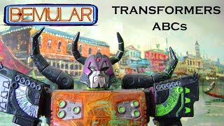 Transformers ABCs (kids song) by Bemular