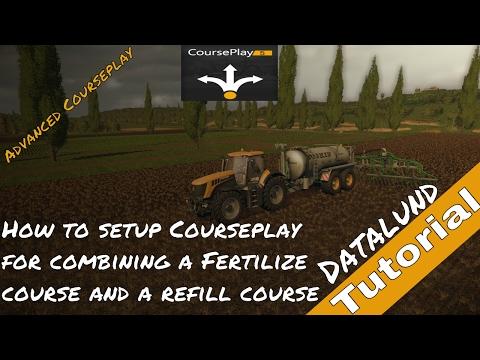 How to set up Courseplay for Liquid manure spreading - Farming Simulator 17 Courseplay Tutorial