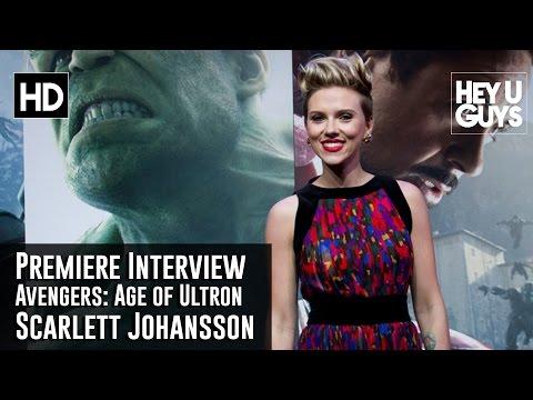 Scarlett Johansson Interview - Avengers: Age of Ultron Premiere