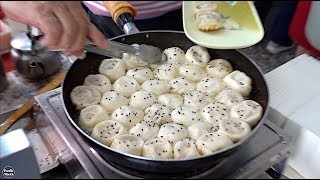 Taiwan Street Food 2018 😎 Soup-Dripping Shanghai Fried Dumplings 🙌🏻