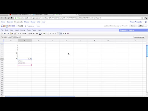 Google Docs Sharing and Collaboration Tutorial