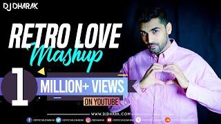 Retro Love Mashup 2015 | DJ Dharak | Harshil Palsana Visuals