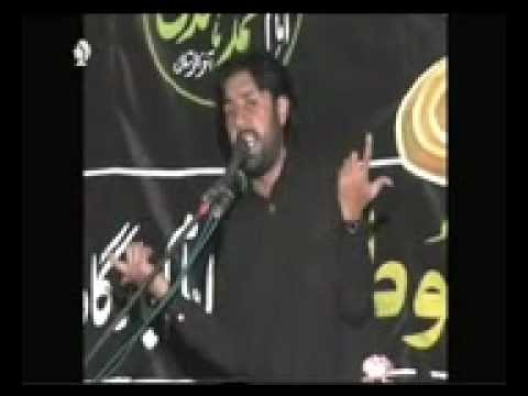 Zakir Taqi Abbas Qayamat (28th Muh 2012) (shahadat Imam Sajjad A.s) Bashna Gujrat video