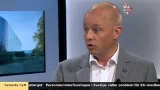 Debatt Tiggeriet  Bj Rn S Der Sd  Amp Gustav Fridolin Mp  Nyhetsmorgon Tv4