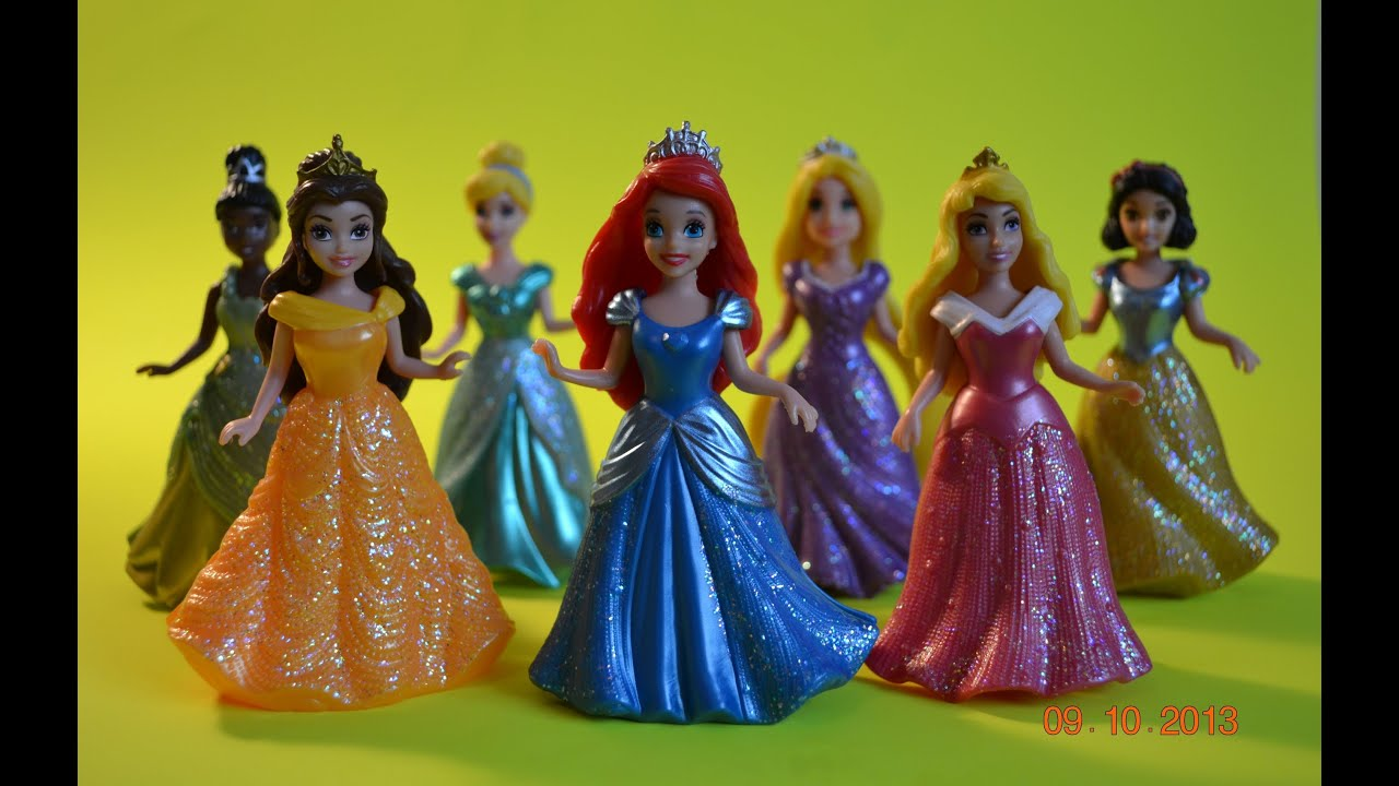 Disney Princess Magic Clip Mini Doll Magic Clip Disney Princess