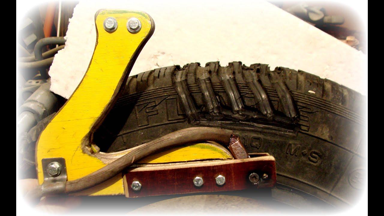 Как нарезать протектор на шине своими руками 75