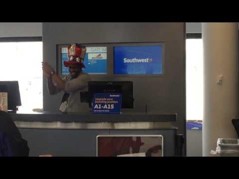 Southwest Airlines Does It Again!! (2015 Boarding Procedure RAP)