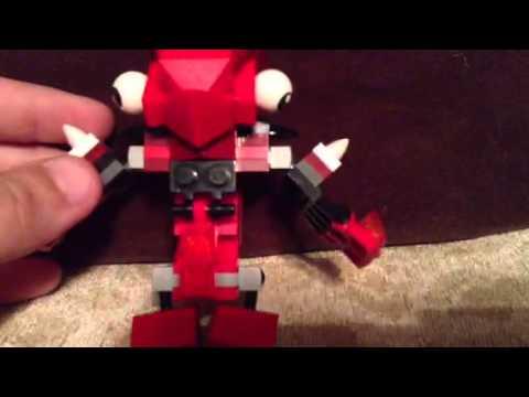 Mixels Flain Lego Mixels:flain And Vulk Mix