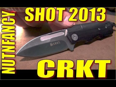 Nutnfancy SHOT Show 2013: CRKT
