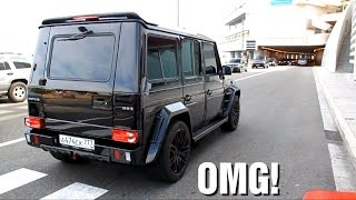 LAUNCH CONTROL Mercedes G Brabus sound!