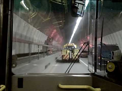 A Trip Through Blackwall Tunnel (Northbound) on London Bus Route 108