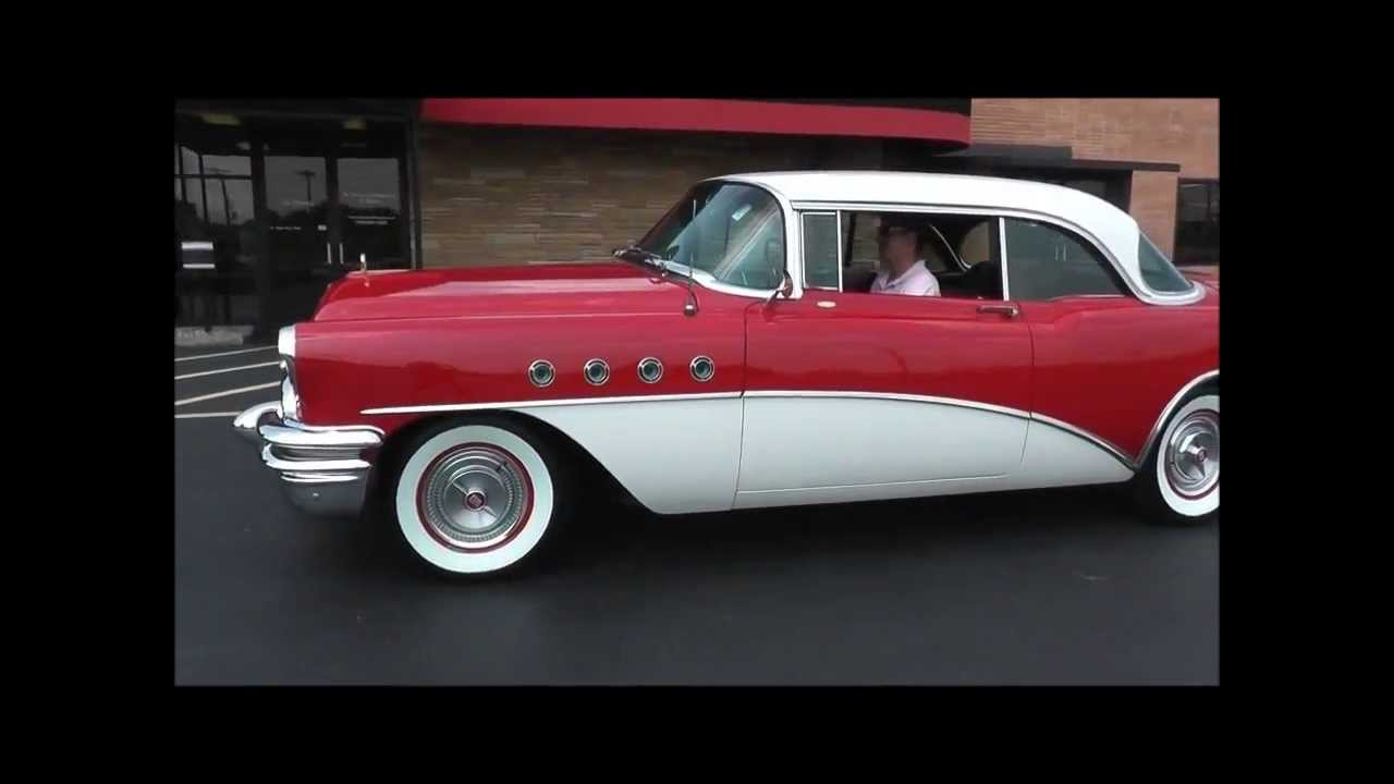 1955 buick roadmaster riviera hardtop youtube. Black Bedroom Furniture Sets. Home Design Ideas
