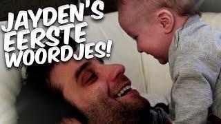 JAYDEN'S EERSTE WOORDJES!!