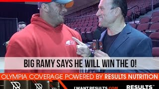 BIG RAMY At The 2015 Mr. Olympia Meet & Greet!