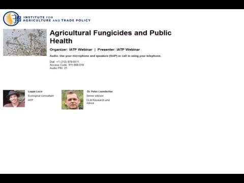 Agricultural Fungicides and Public Health