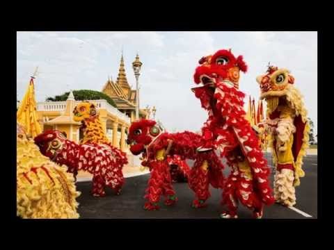 Khmer Songs, Happy Chinese New Year, Khmer Song Chinese Version, Non Stop