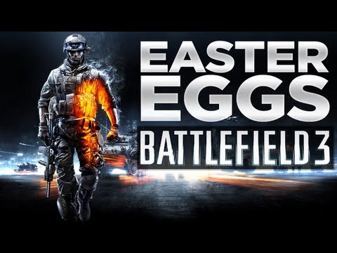 Quadro Negro, Slender...Easter Eggs Mapas Convencionais - Battlefield 3