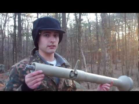 Airsoft Co2 Panzerfaust Rocket Launcher- CDI Industries