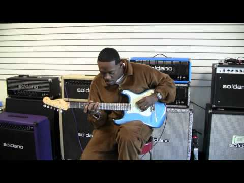 Eric Gales 1964 Lake Placid Blue Fender Stratocaster