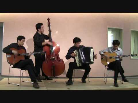 Accordion and Guitar Quartet