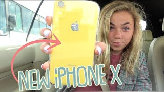 Katie Gets A New iPhone X For Her Birthday And It Doesn't Work 😫