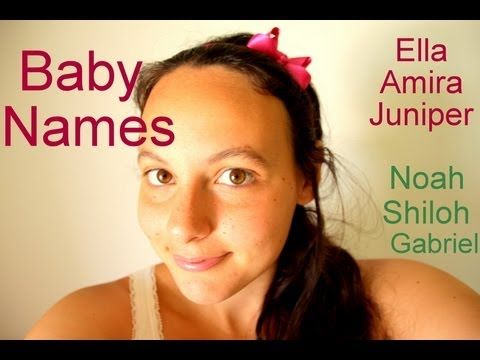 Top Baby Names (Updated)