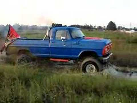Jacked up Ford Mud Trucks 1967 Jacked up Ford Muddin