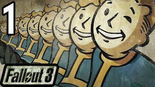 Let's Play ► Fallout 3 [BLIND] - Part 1 - War Never Changes [Livestream]