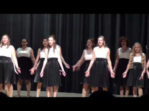 Courtney Hayes & Bloomingdale High School Silhouettes - Mister Santa and Santa Baby