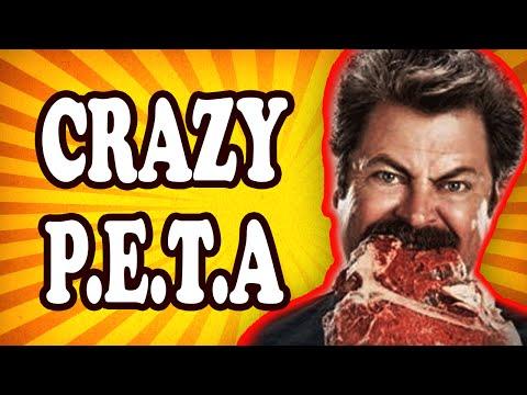 Top 10 INSANE P.E.T.A. Marketing Stunts — TopTenzNet