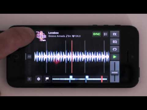 Traktor DJ for iPhone Talkthrough