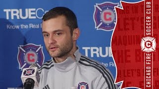 Chicago Fire introduce new midfielder Shaun Maloney