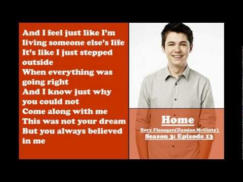 Glee - Home (Lyrics)