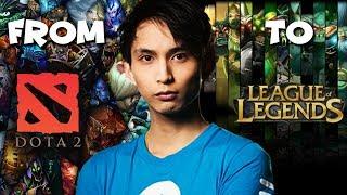 Dota 2 Player Plays League Of Legends - SingSing LoL Highlights